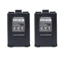 2PCS Baofeng сменный литий-ионный аккумулятор 1800 мА·ч UV5R UV5RB UV5RE двухполосное радио