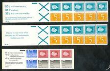 Nederland boekjes 19 a, 19 b en 20 a postfris