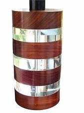 Felice Antonio Botta design years '80  Firenze,big lamp in lucite and wood, rare