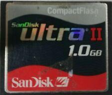 SanDisk Ultra II 1GB - Compact Flash I Card - Retail - SDCFH-1024-901