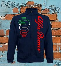 ALFA ROMEO GIACCHINO SWEAT JACKET nos tuning hoodie sport rally car