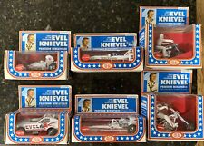 🇺🇸 Ideal 1976 Evel Knievel Precision Miniatures Diecast SET Wave 1 Unpunched