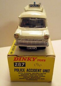 Dinky Toys 287 Ford Transit Police Accident Unit,      original