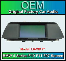 """BMW 5 Series display screen, BMW F10 F11 F07, L6 CID 7"""", LCI Multi function"""