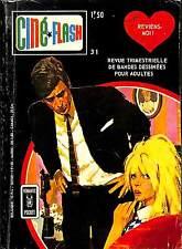 BANDE DESSINEE POUR ADULTES CINE FLASH N° 31 DE 1970
