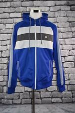 New Rocawear Hoodie Jacket Zip Front Size XXL Blue White & Gray MSRP $69.99 Coat