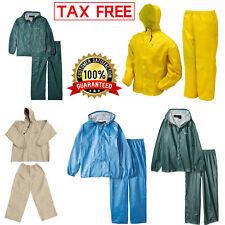 Rain Suit Frogg Toggs Ultra Lite Waterproof Jacket Pants Gear Wear S M L XL XXL