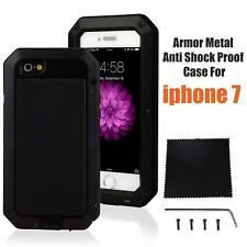 Waterproof Shockproof Aluminum Gorilla Glass Metal Case Cover For Apple iPhone