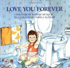 Robert Munsch Love You Forever, Baby Book Paperback English, Night Sleep Story