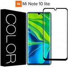 PELLICOLA VETRO TEMPERATO CURVO 5D per Xiaomi Mi Note 10 Lite COPERTURA TOTALE