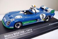 - MATRA MS 670 B - # 7 Pescarolo-Larrousse - Winner Le Mans - 1974 - 1/43