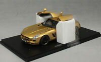 Spark Mercedes-Benz SLS AMG in Gold 2009 S1023 1/43 NEW