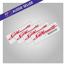 Silhouette Aero Wheel Stickers R31 Skyline GTS GTSX GTSR SVD ** SET OF 4 Nissan