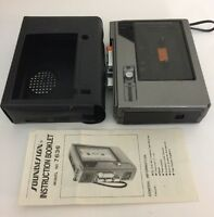 Vintage Soundesign #7636 Cassette Player / Recorder for Parts or Repair
