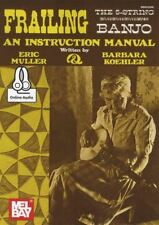 Frailing the 5-String Banjo TAB Book with Audio An Instruction Manual Method