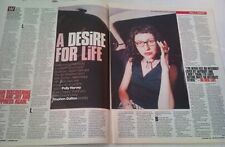 PJ HARVEY a desire for life 1998 2 page UK ARTICLE / clipping 14x12 inches