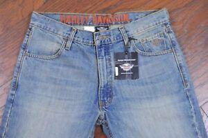 NWT Harley-Davidson Modern Straight Leg Jeans Men's 34x32