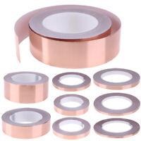 30 Meters Single Side Adhesive EMI Shielding Heat Resist Copper Foil Tape SS6
