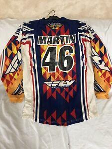 Jeremy Martin #46 Signed Race Worn Jersey, Fly, Yamaha