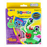 Amos I.Clay 4 Colour Neon & Glow In The Dark Craft Kit - Air Dry Modelling Clay