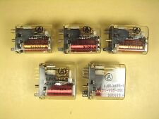 American Zettler  Relay  2EA  AZ420-56-205  3EA  AZ421-V05-200  Lot of 5