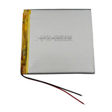 3.7V 4400 mAh Polymer rechargeable Li battery For GPS iPAQ Tablet PC 3596102
