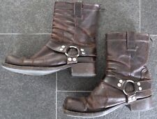 DSQUARED2 F/W 2003 ROCKSTAR BOOTS STIEFEL 44,5 45 45,5 46 SCHUHE LEATHER SHOES