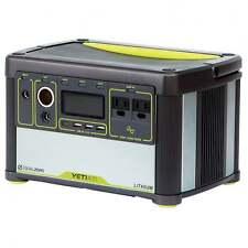 GOAL Zero YETI 400 LITIO Portable Power Station-Off l'energia solare a griglia