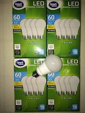 Sweet 16 Pack LED 60W = 9W Soft White 60 Watt Equivalent A19 2700K light bulb