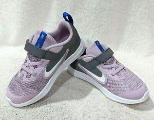 Nike Downshifter 9 (TDV) Iced Lilac/White/G Toddler Girl's Shoes-Sz 7/8/9/10C NB