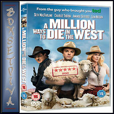 A MILLION WAYS TO DIE IN THE WEST - Liam Neeson **BRAND NEW DVD ***