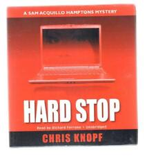Hard Stop by Chris Knopf (2009, CD, Unabridged) audiobook Sam AcQuillo Mystery