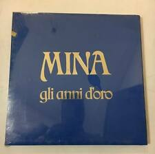"MINA ""GLI ANNI D'ORO"" RARO BOX 3 LP DISCHI RICORDI - SIGILLATO"