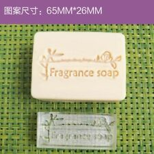 Fragrance Soap Stamp For Handmade Soap Candle Candy Stamp Fimo Stamp