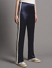 Marks & Spencer Autógrafo Raya Lateral Pierna Recta Pantalones Azul marino BNWT