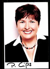 Patricia Cips Autogrammkarte Original Signiert ## 37252