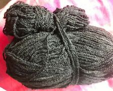 422gm Black Aran Wool, New