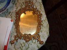 Cast Brass Ornate Victorian Frame For Mirror/Photo/Painting; Stunning-Wow