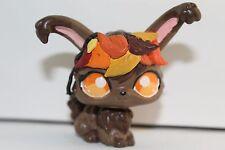 CUSTOM HAND PAINTED Littlest Pet Shop LPS Autumn Theme Bunny OOAK