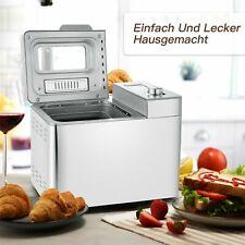 Profi Brotbackautomat Backmeister Brotbäcker Brotbackmaschine 25 Programme 550W