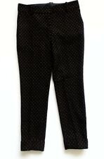 NEXT PETITE NAVY WITH ORANGE PATTERN TROUSERS 8/36