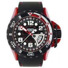 Relojes de pulsera con fecha de aluminio de goma