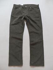 Levi's 511 Slim Cord Jeans Hose W 38 /L 32, oliv-grün, NEU ! Coloured Cordhose !
