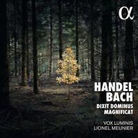 Vox Luminis Lionel Meunier - Handel; Bach: Dixit Dominus Magnificat (NEW CD)