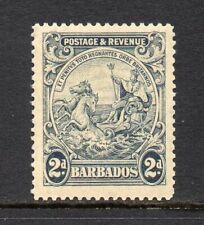 Barbados - 1925-35, 2d Grey (sg232) Mint