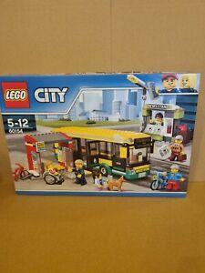 ⭐️ LEGO City 60154 Bus Station (2017) | New, Unopened, Retired set ⭐️