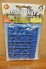 BILLY V AMERICAN CIVIL WAR  UNION & CONFEDERATE ARTILLERY 1/72  FIGURES