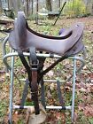 Mcclellan cavalry military saddle 11 1/2 In Seat, good condition