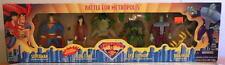 Superman Battle For Metropolis 4 Pack New Sealed Htf Rare