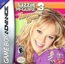 Lizzie McGuire 3: Homecoming Havoc (Nintendo Game Boy Advance, 2005) Game Only